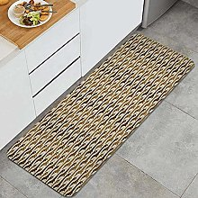 SUHETI Kitchen Rug,Continuous Pattern with Lovely
