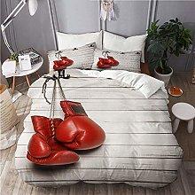 SUHOM bedding-Duvet Cover Set,Boxing gloves