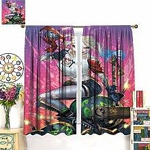 Suicide Squad Harlequin Art Waterproof curtain ,