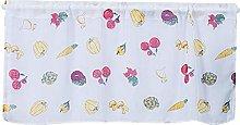 Suitable Curtain, Bright Color Floral Print