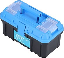 Suitcase, Portable Double Layer PP Plastic Tool
