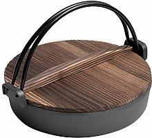 Sukiyaki, Cast Iron Casserole Crock Pot with