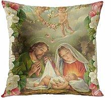 Suklly Christmas Roses Baby Jesus St Joseph Mary