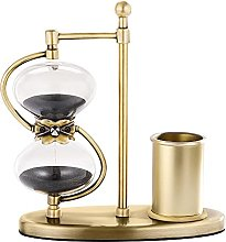 SuLiao 15 Minute Hourglass Sand Timer with Brass