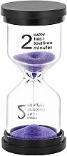 SuLiao 2 Minute Sand Timer hourglass: Colorful