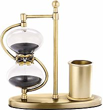 SuLiao 30 Minute Hourglass Sand Timer, Antique