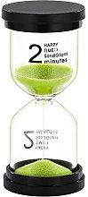 SuLiao Hourglass 2 Minute Sand Timer: Plastic