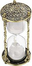 SuLiao Hourglass Sand Timer 60 Minute:Mandala Rose