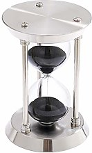 SuLiao Silver 60 Minute Hourglass Sand Timer,