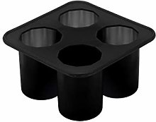 Sulifor Silicone Ice Cube Tray, Cylindrical Ice