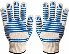 Sumifun Oven Mitt Gloves, BBQ Gloves with Silicone