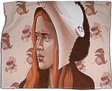 Summer Comforter Blanket Stranger Things girl