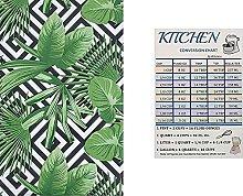 Summer Fun Geometric Tropical Vinyl Tablecloth