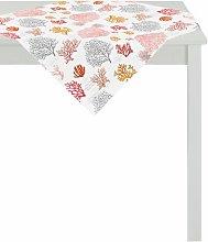 Summer Garden Tablecloth Apelt Colour: Red