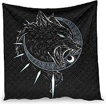 Summer Quilts Viking Wolf Moon Microfiber Thin Air