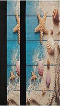 Summer Seashell Starfish Refrigerator Door Handle