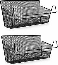 SUMNACON 2 Pcs Bedside Hanging Storage Baskets