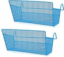 SUMNACON 2Pcs Bedside Hanging Storage Baskets