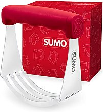 SUMO Pastry Cutter - Solid Stainless Steel Blades,