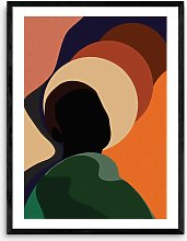 Sumuyya Khader - 'Changing Winds' Framed