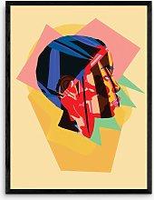 Sumuyya Khader - 'Grace' Framed Print,