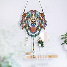 Sun Catcher Crystal Hanging Pendant, 5D Diamond