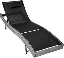 Sun lounger Delphine rattan - reclining sun