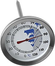 Sunartis T720AL Meat Thermometer, Stainless Steel