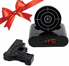 SUNASQ Novelty Target Alarm Clock, Shooting Clock