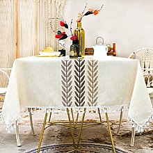 SUNBEAUTY Square Table Cloth 140x140 Tablecloth