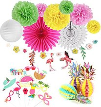 SUNBEAUTY Summer Party Decoration Kit Flamingo