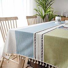 SUNBEAUTY Table Cloth Rectangular 140x220 Cotton