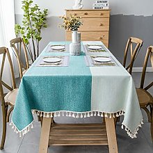 SUNBEAUTY Table Cloths Rectangular Cotton 140x220