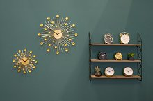 Sunburst Wall Clock Karlsson Size: Large, Colour: