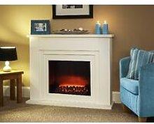 Suncrest Bedale Electric Fireplace Fire Heater