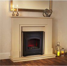 Suncrest Farnley Electric Fireplace Suite in