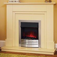 Suncrest Herrington Electric Fireplace Suite in