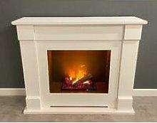 Suncrest Lucera Electric Fireplace Fire Heater