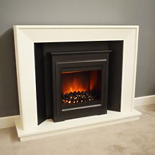 Suncrest Mayford Fireplace Suite with White