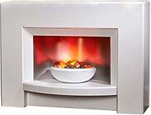 Suncrest Stockeld Electric Fireplace, Electric