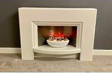 Suncrest Stockeld Electric Fireplace Fire Heater