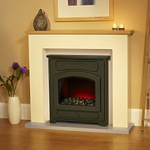 Suncrest Thornton Electric Fireplace Suite in