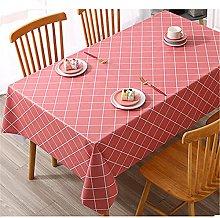 SUNFDD Nordic Tablecloth Fabric Waterproof,