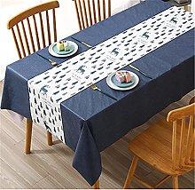 SUNFDD Tablecloth Waterproof, Oilproof, Anti-Scald