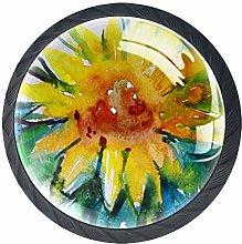 Sunflower 4 PCS Decorative Cabinet Wardrobe