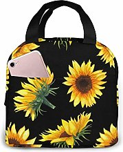 Sunflower Blooming Flowers Plants Black and Yellow