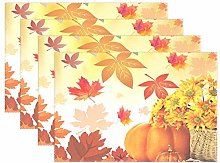 Sunflower Maple Leaves Pumpkin Autumn Fall