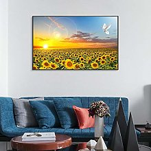 Sunflower Posters Hd Print Bedroom Decoration Wall