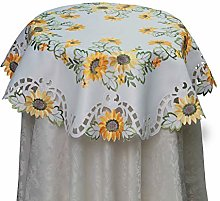 Sunflower Tablecloth Fall Autumn Harvest