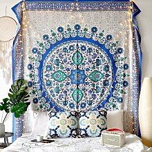 Sunflower Tapestry Wall Hanging Medallion Tapestry